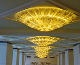 Illuminazione per hotel